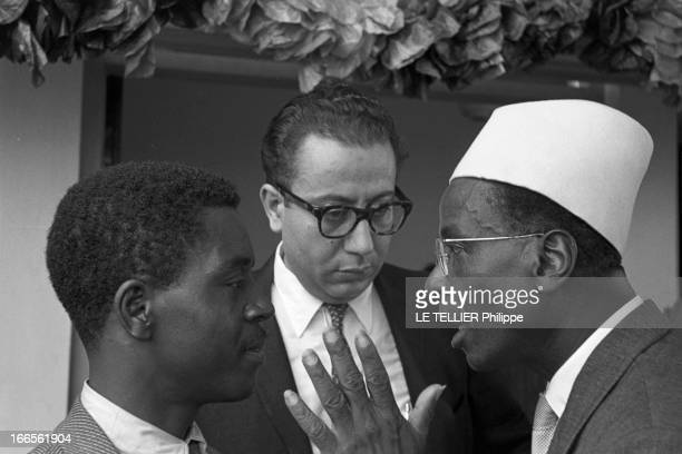 First Conference Of The 'Rassemblement Des Peuples Africains' In Accra Ghana Le 24 avril 1954 une conférence panafricaine à Accra au Ghana avec les...