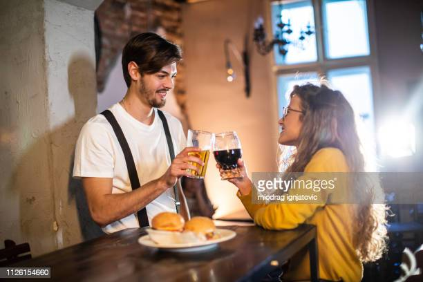 First Date at Pub