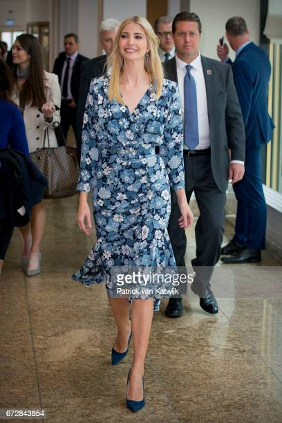 First Daughter and Advisor to the US President Ivanka Trump attends the W20 conference on April 25 2017 in Berlin Germany The conference part of a...