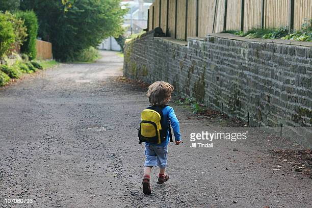 First Day At Nursey School