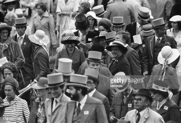 First Day at Royal Ascot Tuesday 14th June 2019 pictured Crowd Scenes