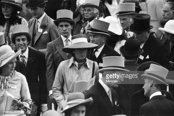 First Day at Royal Ascot Tuesday 14th June 2019 pictured Margaret Thatcher on left of picture