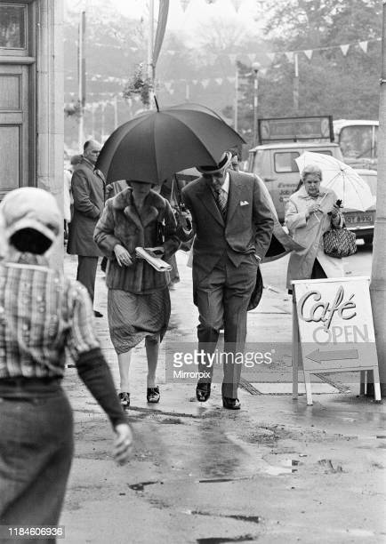 First Day at Royal Ascot Tuesday 14th June 2019 pictured Peter Sellers and wife Lynne Frederick