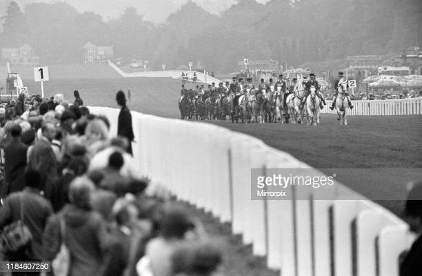 First Day at Royal Ascot Tuesday 14th June 2019 pictured Royal Procession arrives at Ascot