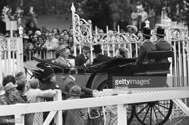 First Day at Royal Ascot Tuesday 14th June 2019 pictured Royal Carriage Louis Mountbatten 1st Earl Mountbatten of Burma Prince Charles and The Queen