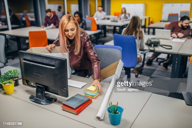 first day at the office - day 1 stock pictures, royalty-free photos & images