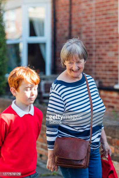 first day back - schoolboy stock pictures, royalty-free photos & images