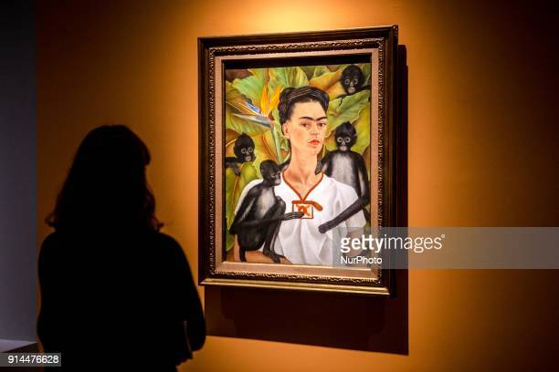 First day of Frida Kahlo quotBeyond the Mythquot exhibition at Mudec Milano Italy on 01 February 2018