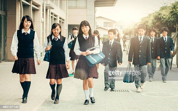 First day of school in Japan