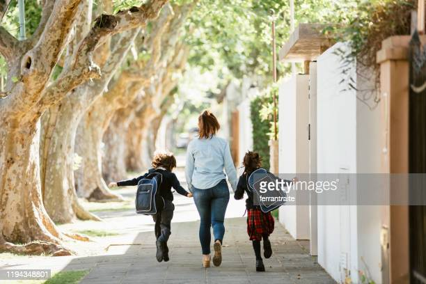 first day of school - small group of people stock pictures, royalty-free photos & images