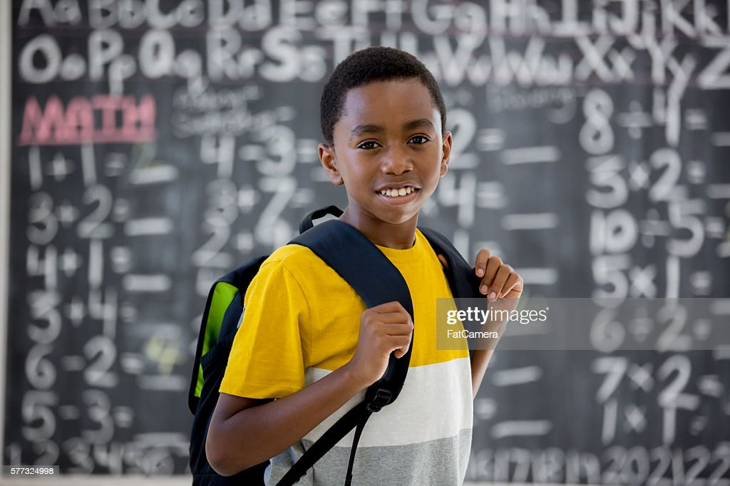 Primo giorno di scuola : Foto stock