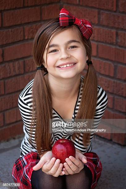 first day of school - hair bow stock pictures, royalty-free photos & images