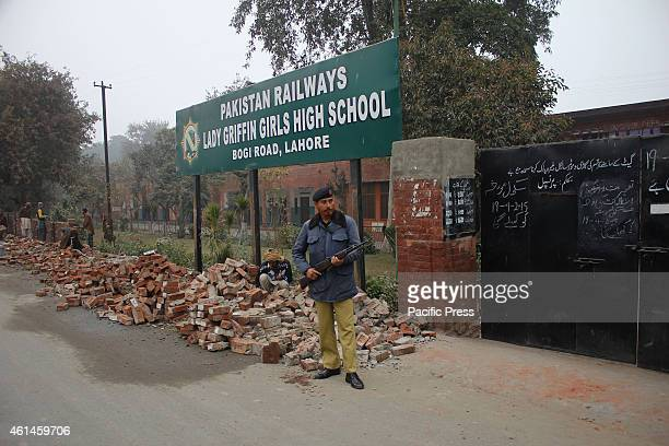 First day of school under high alert security as schools reopens after a long vacation mandated by Government after the terrorist attack on the Army...