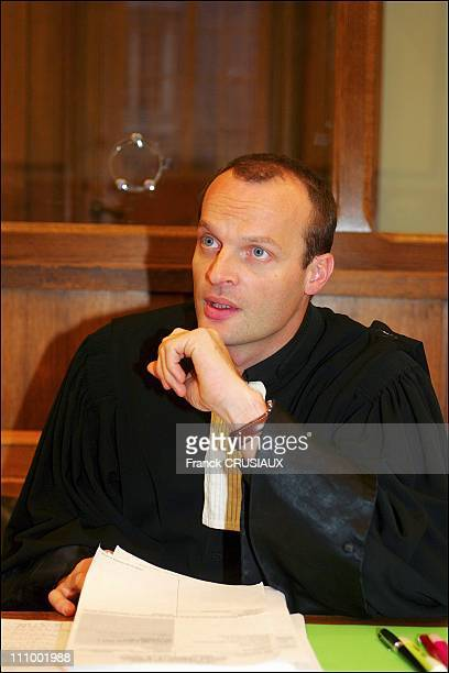 First day of the trial of Francis Heaulme before the Assize Court of the Marne for three murders in the region in the end of 1980s in Reims France on...