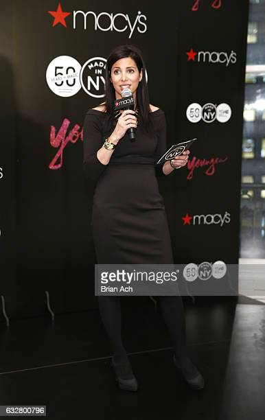 First Deputy Commissioner at Mayor's Office of Media Entertainment City of New York Kai Falkenberg speaks as Macy's celebrates the 50th Anniversary...