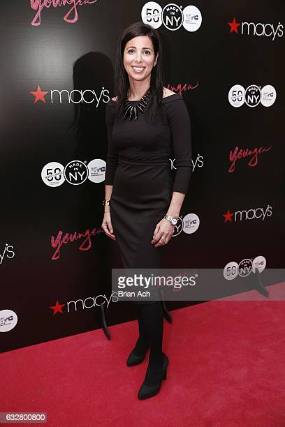 First Deputy Commissioner at Mayor's Office of Media Entertainment City of New York Kai Falkenberg attends as Macy's celebrates the 50th Anniversary...