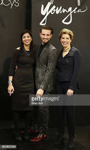 First Deputy Commissioner at Mayor's Office of Media Entertainment City of New York Kai Falkenberg Actor Nico Tortorella and Commissioner NYC Mayor's...
