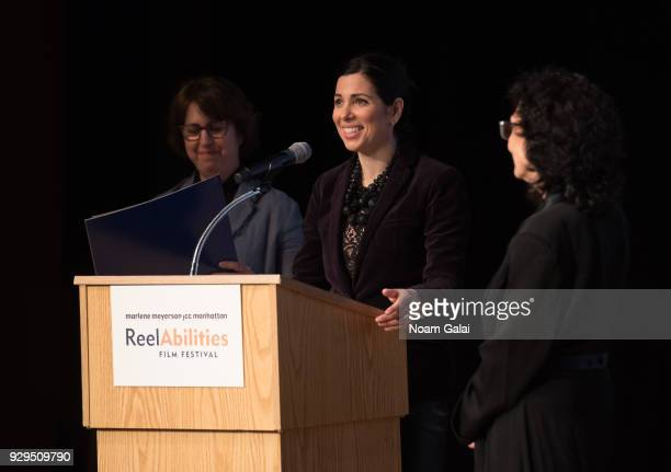 First Deputy Commissioner Kai Falkenberg attends the 10th annual ReelAbilities Film Festival opening night at JCC Manhattan on March 8 2018 in New...