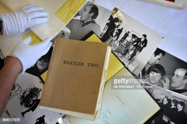 First drafts of the Beatles films A Hard Day's Night and Help part of the film director Dick Lester's archive which has been donated to the British...