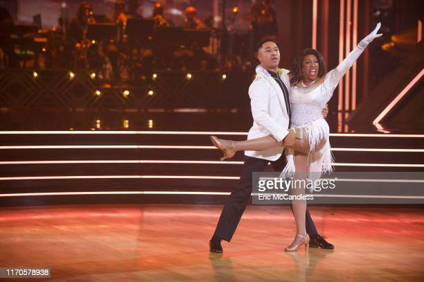 """First Elimination"""" - The 12 celebrity and pro-dancer couples compete a second week with the first elimination of the 2019 season, live, MONDAY, SEPT...."""