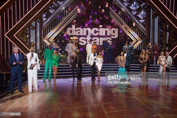 STARS First Elimination The 12 celebrity and prodancer couples compete a second week with the first elimination of the 2019 season live MONDAY SEPT...