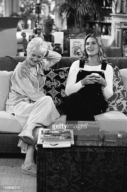 SUSAN 'First Epiosode' Episode 1 Aired Pictured Barbara Barrie as Helen 'Nana' Keane Brooke Shields as Susan Keane Photo by Paul Drinkwater/NBCU...