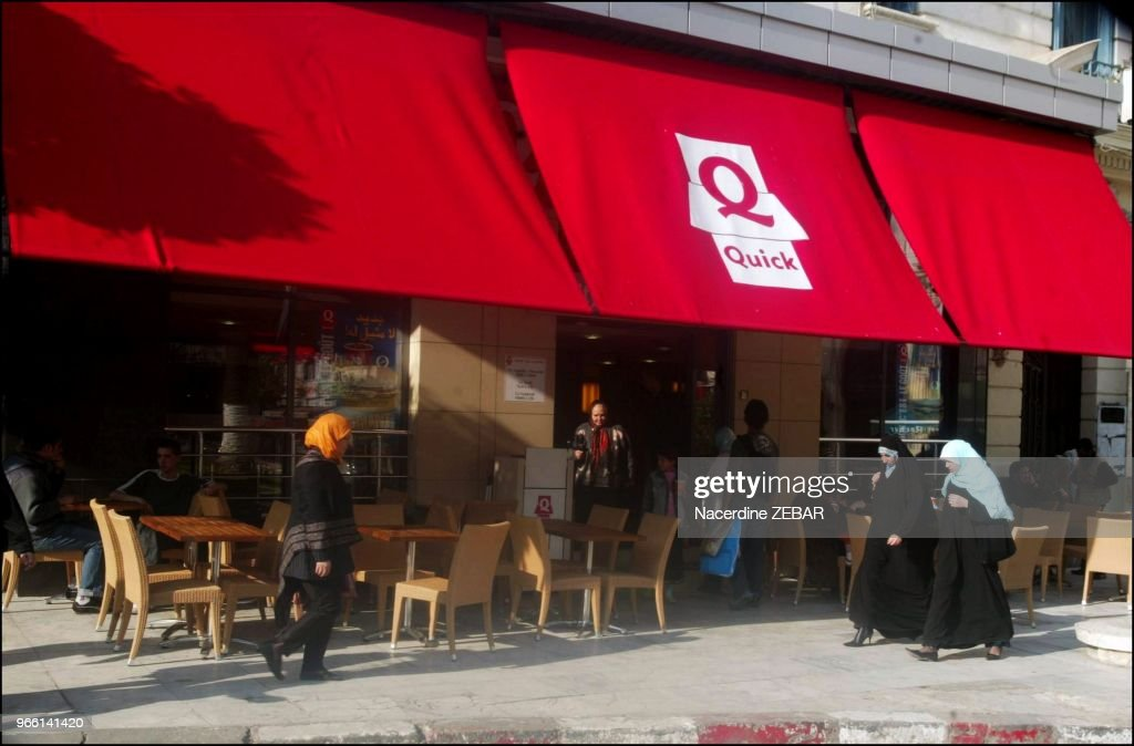 First Fast Food Chain In Europe Quick Opened Its First Restaurant