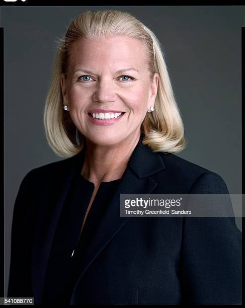 First female CEO of IBM Virginia Rometty