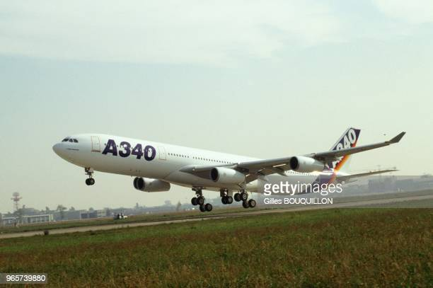 First Flight Of Airbus A340 Toulouse October 25 1991