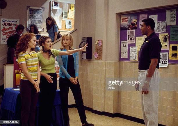 TIME First Game of the Season Episode 3 Aired 9/20/97 Pictured Amber Barretto as Kristy Ford Megan Parlen as Mary Beth Pepperton Daniella Deutscher...