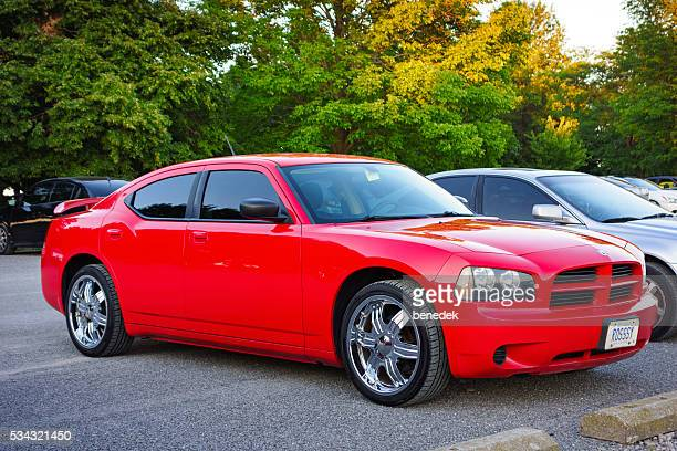 First Generation Red Dodge Charger LX