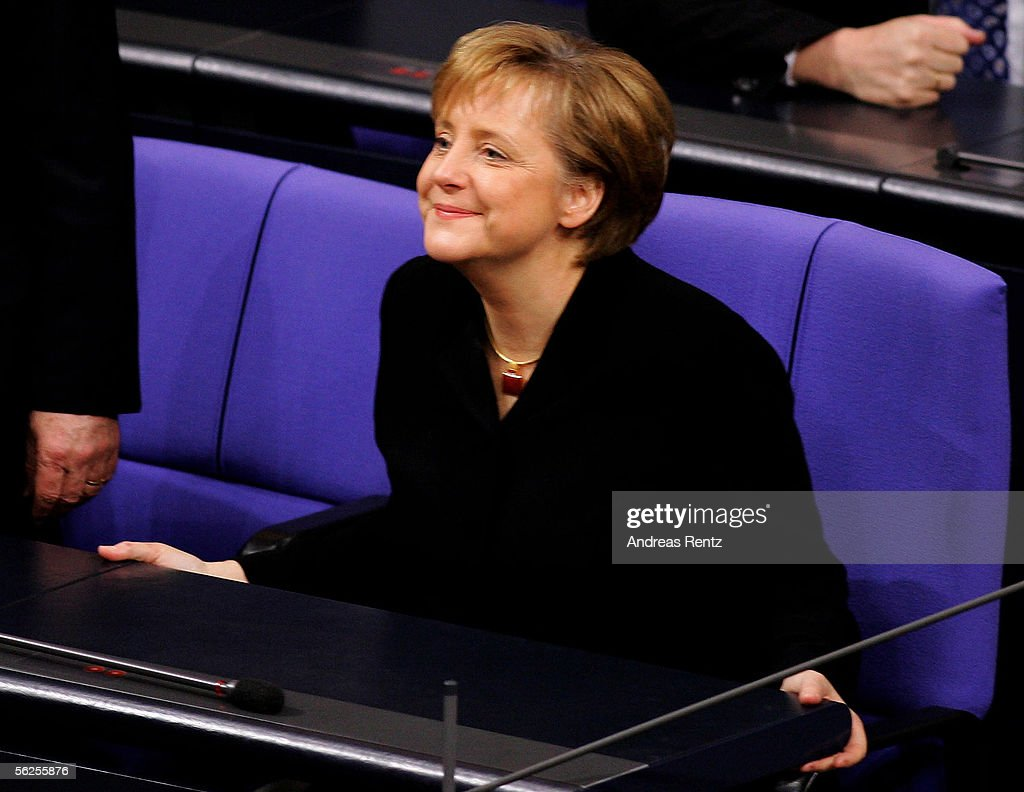 On 22 November 2005 Angela Merkel became Germany's first ever female Chancellor