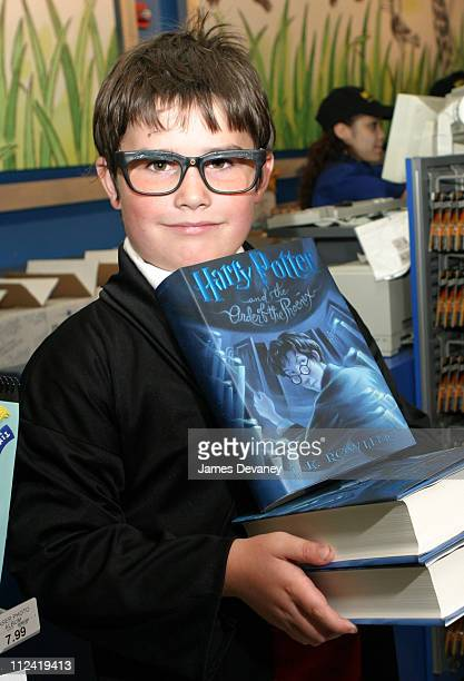 First Harry Potter Fan to buy new book during Toys 'R' Us Hosts Release Party for JK Rowling's 'Harry Potter and the Order of the Phoenix' at Toys...