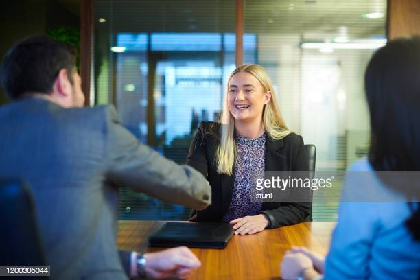 first job interview - interview stock pictures, royalty-free photos & images