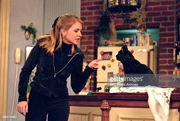 WITCH First Kiss Season One 2/14/97 Sabrina ignored Salem's warning that her kiss would turn Harvey into a frog