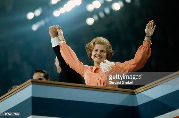 First Lady Betty Ford with United States President Gerald Ford at the 1976 GOP Convention Ford served as the President of the United States from 1974...