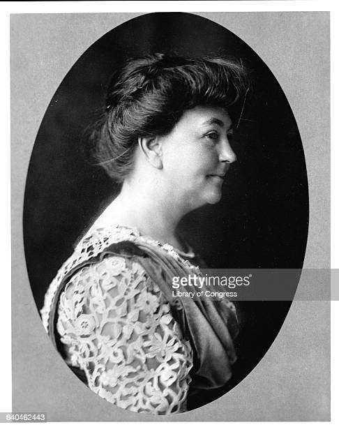 First Lady Ellen Louise Axson Wilson the first wife of the 28th President of the United States Woodrow Wilson