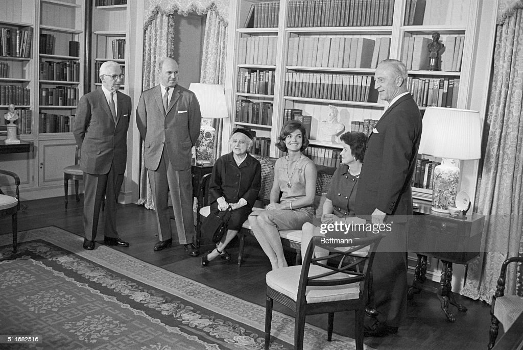 Jacqueline Kennedy With American Institute of Interior Design