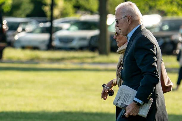 DC: President And Mrs Biden Depart White House For Wilmington, DE