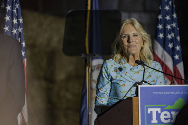 VA: First Lady Jill Biden Campaigns With Governor Candidate Terry McAuliffe In Henrico County