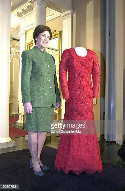 First Lady Laura Stock Photos and Pictures | Getty Images
