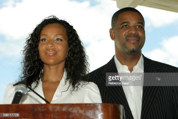First Lady LisaRaye Misick and Honorable Michael E Misick Premier of Turks and Caicos