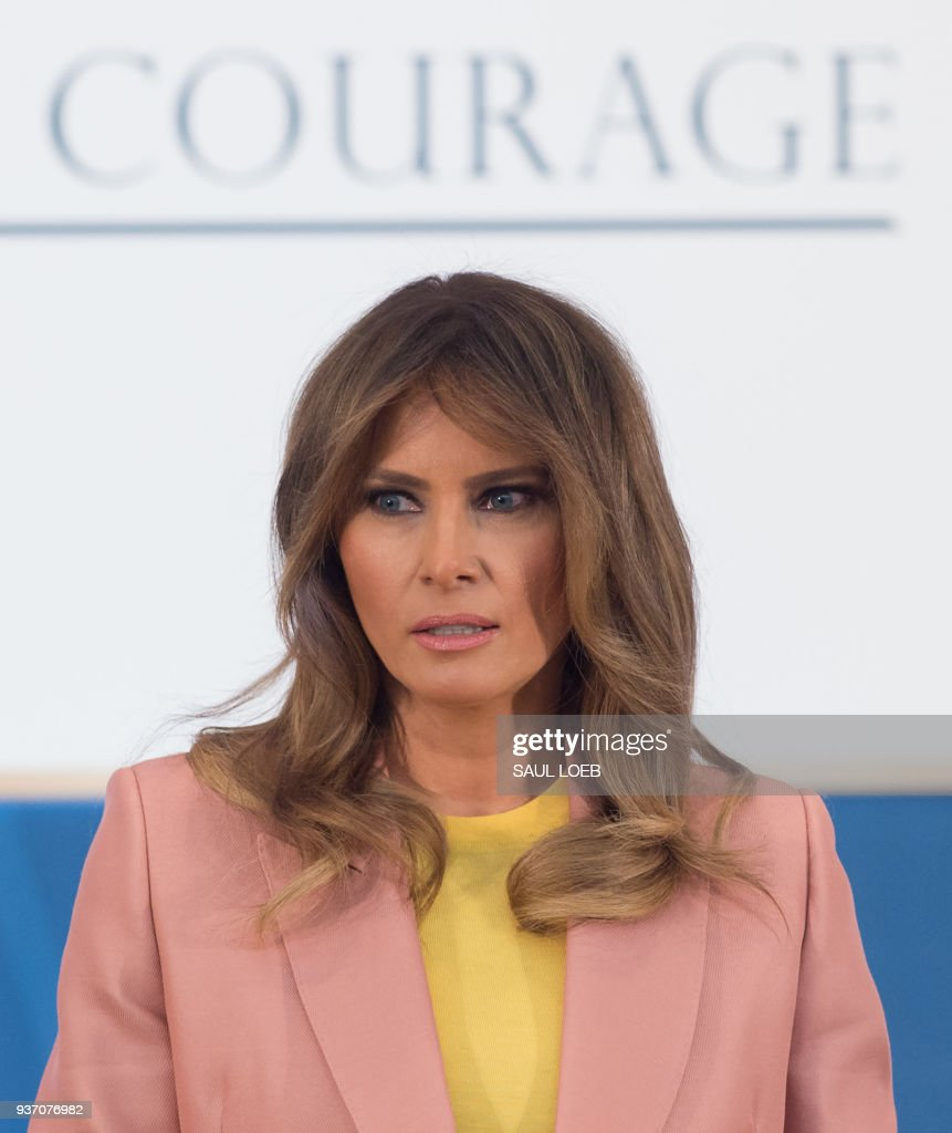 Melania Trump Delivers Remarks At International Women Of Courage Awards