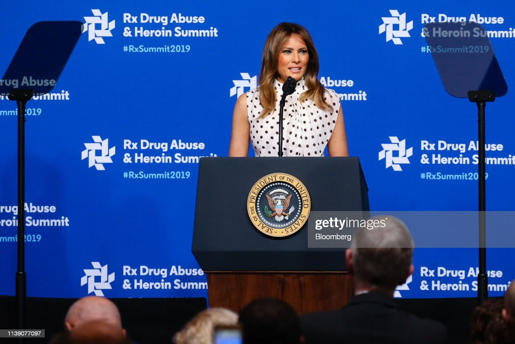 GA: President Donald Trump And First Lady Melania Trump Address Rx Drug Abuse & Heroin Summit