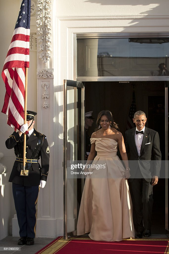 President Obama Hosts Nordic Leaders For State Dinner : News Photo
