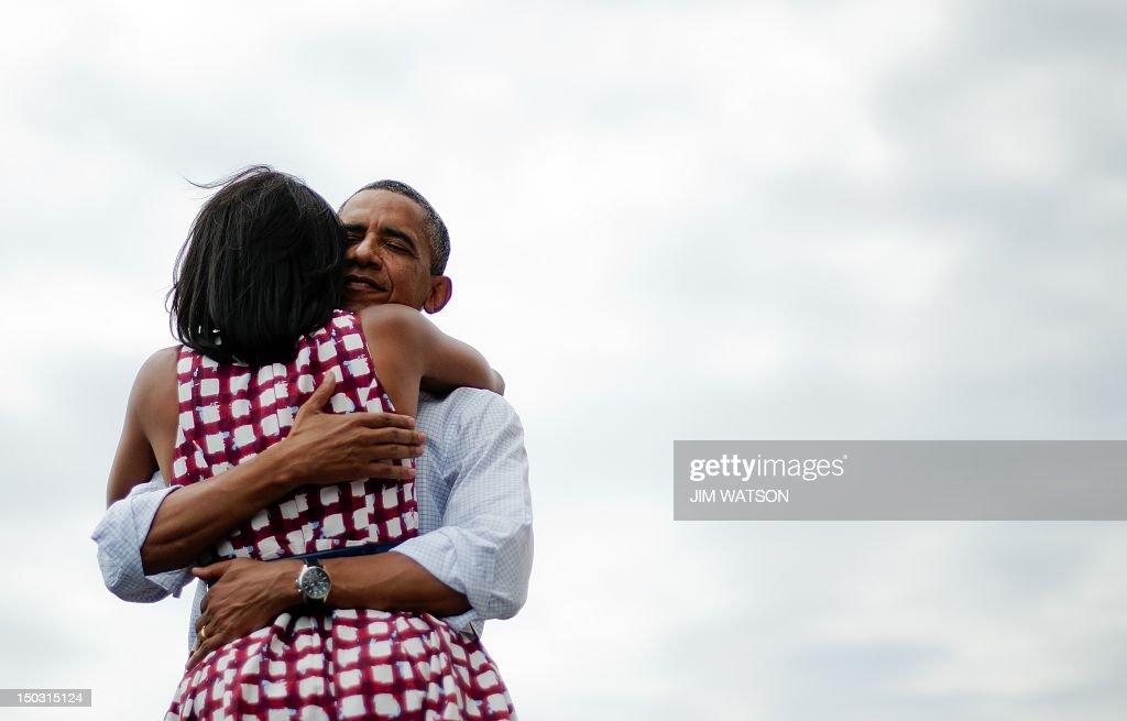 US-VOTE-2012-DEMOCRATIC CAMPAIGN : News Photo