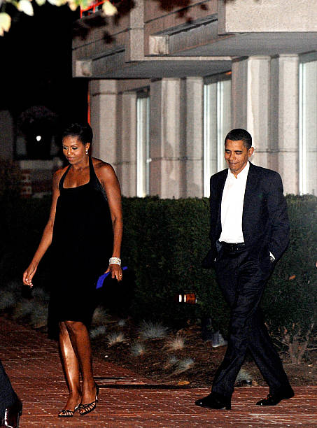 Obama Wedding Anniversary Pictures