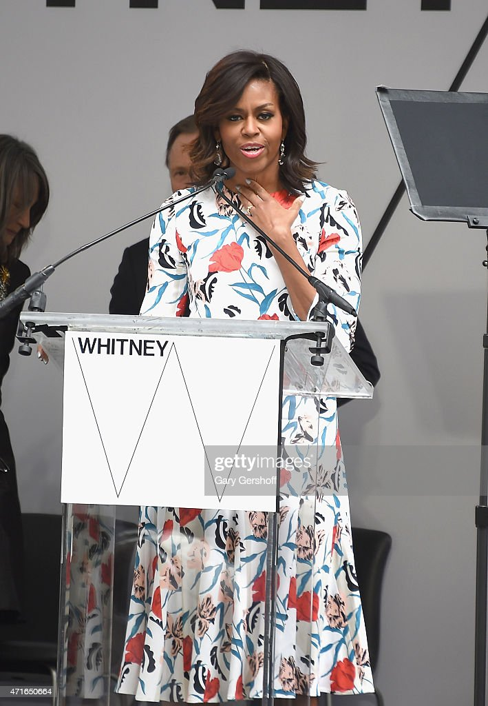 Whitney Museum Of American Art Dedication Ceremony : News Photo