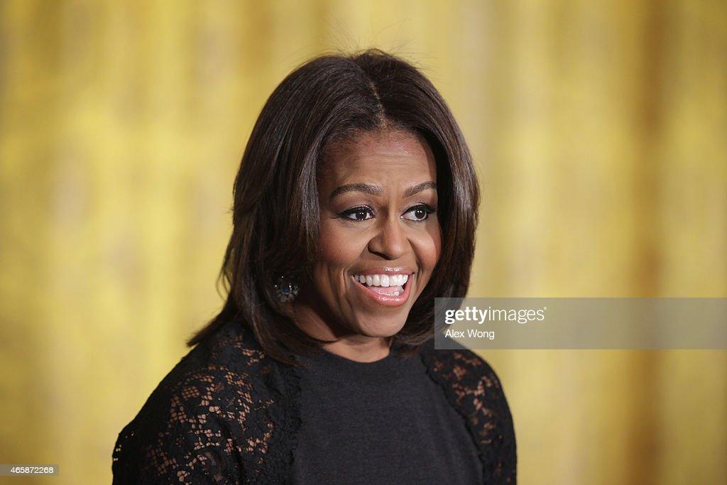 Michelle Obama Hosts Nowruz Celebration At The White House : News Photo