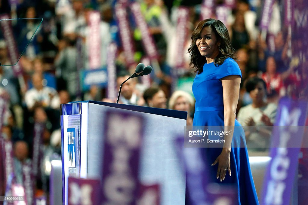 Democratic National Convention: Day One : Nyhetsfoto